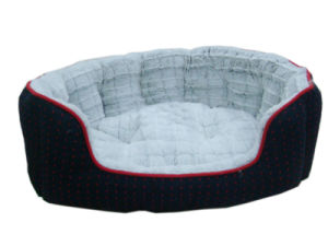 Warm Jacquard House Style Pet Bed pictures & photos