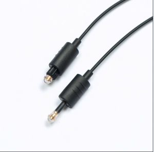 Hot Quality Plastic Optical Toslink Cable pictures & photos