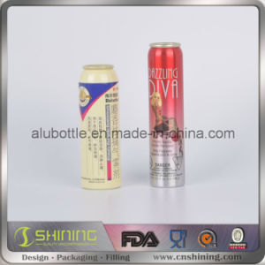 Many Capability Aluminum Aerosol Cans with Valve Actuator and Lids pictures & photos