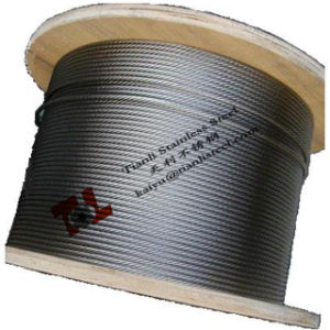 """316 7X19 1/8"""" 3.2mm Stainless Steel Wire Rope pictures & photos"""
