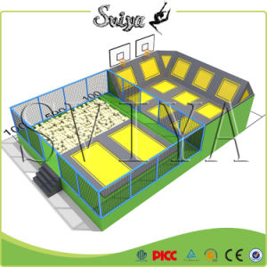 2016 Newest Commercial Promotional Adventure Park Trampoline Sales Business pictures & photos