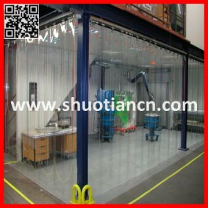 PVC Strip Cold Room Plastic Curtain (ST-004) pictures & photos