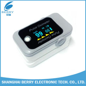 Colorful Waveform OLED Cheap Bluetooth Pulse Oximeter with CE Approval