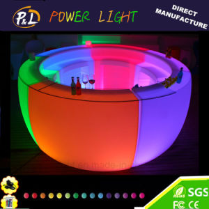 Glowing Party Lounge Furniture LED Illuminated Bar pictures & photos