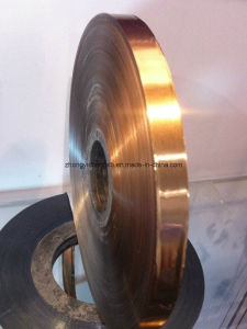 Copper Foil Pet Tape for Coaxial Cable Sheilding pictures & photos