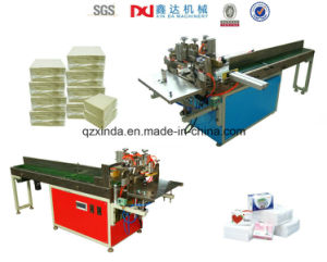 Automartic Napkin Tissue Paper Packaging Machine pictures & photos