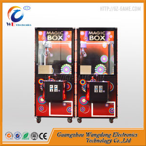 Magic Box Crane Prize Game Machine for Kids pictures & photos