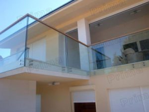 High Grade Stainless Steel Balcony Railing Design for Balcony Stainless Steel Railing pictures & photos