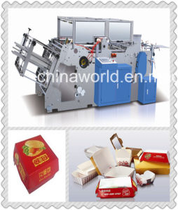 Disposable Paper Food Box Making Machine pictures & photos