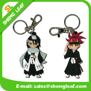 Customized Requirements Fancy 3D Rubber Key Chain (SLF-KC002) pictures & photos