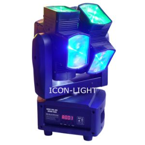 Unique Dual Axis 8X10W Moving Head with Pixel pictures & photos