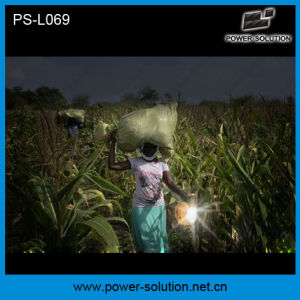 Power Solution Qualified 4500mAh/6V Solar Lantern with Mobile Phone Charger with Solar Light Bulb pictures & photos