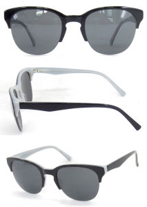 Wholesale Classical Fashion Sunglasses Acetate and Metal pictures & photos