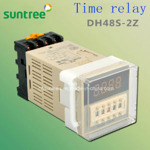 Digital Timer Switch Timer Relay Dh48s 12V DC Timer Switch pictures & photos