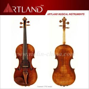 Guarneri 1742 Model Violin Solo Violin High Grade Antique Model Violin pictures & photos