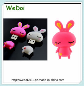 Lovely Customized Rabbit USB Stick USB Pen Drive (WY-PV31) pictures & photos