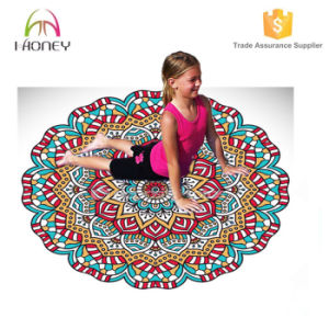 High Density Exercise Yoga Mats Round Shape Mat pictures & photos