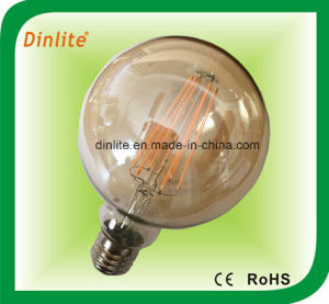 G95-4W 6W Golden LED Filament Bulb pictures & photos