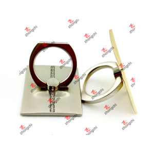 Reusable Metal Ring Phone Holder Rotating Finger Ring Grip for Smartphones (SPH51016) pictures & photos