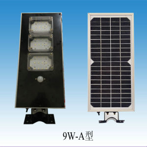 9W All-in-One Solar Street Light for Outdoor Lighting pictures & photos