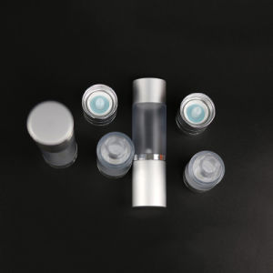 50ml Airless Bottle with Aluminum Cap (NAB16) pictures & photos
