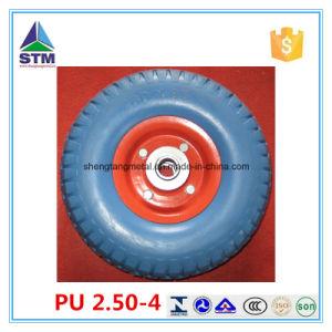 Good Blue PU Wheel pictures & photos