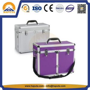Grooming Hairdresser Aluminum Tool Case with Strap (HT-2105) pictures & photos