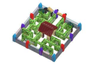 Outdoor Game Inflatable Garden Maze for Sale Chob001 pictures & photos