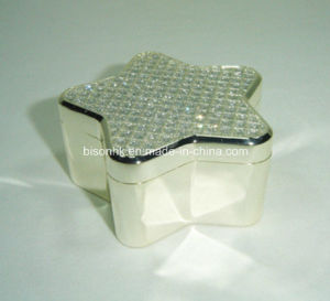 Jewelry Box by Star Shaped, Metal Jewelry Packing Box pictures & photos