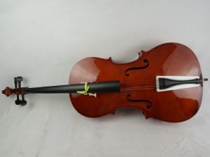 Hot Sale 2016 Gloss Red Brown Lamianted Beginner Cello pictures & photos