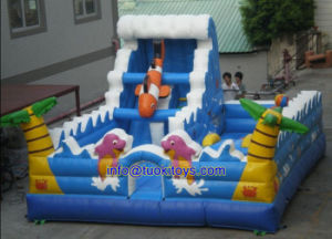 Double Stitching Inflatable Bouncer for Amusenment Park (A167) pictures & photos