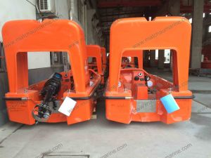 6 Persons Fast Rescue Boat with Single Arm Davit pictures & photos