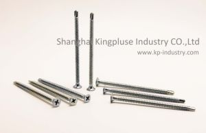 Bugle Head Self-Drilling Screw (phillips recessed) pictures & photos