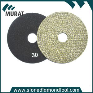 4 Inch Diamond Electroplated Pads Tool for Marble/ Granite Polishing pictures & photos