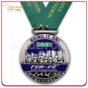 Metal Custom 3D Sculpted Running Award Medal pictures & photos