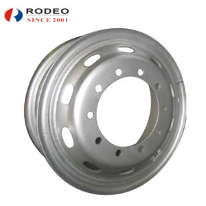 Tube Steel Wheel 8.5-24 for Truck pictures & photos