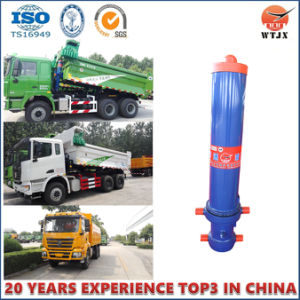 High Quality Telescopic Hydraulic Cylinder for Tipping Trailer pictures & photos