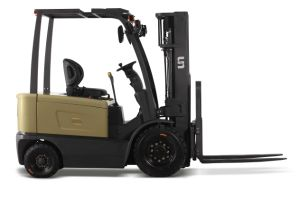 1.5 Ton Battery Operated Electric Forklift Truck pictures & photos