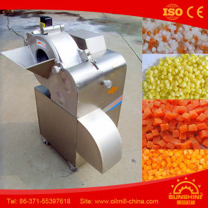 Top Quality Automatic Vegetable Cutting Machine Vegetable Cube Cutting Machine pictures & photos
