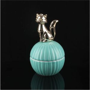 New Creative Ceramic Animal Jewelry Boxes Wedding Gift Wholesale pictures & photos