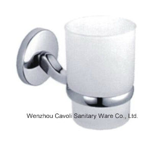 Zinc Sanitary Ware Metal Wall Bathroom Tumbler Glass Holder