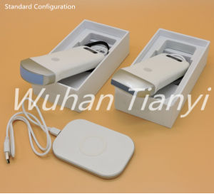 128 Elements 7.5MHz 10.0MHz Linear 3.5MHz Convex Wireless Ultrasound Probe for iPhone iPad pictures & photos