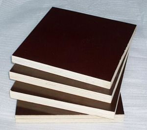 Anti-Slip Film Faced Birch Poplar Plywood for Construction pictures & photos