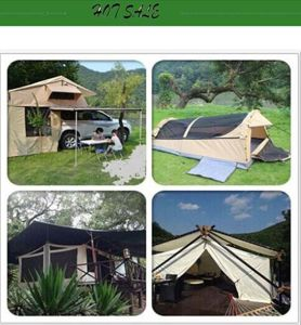 Pop up Car Tent with Aluminum Tent Pole pictures & photos