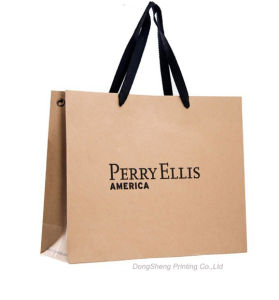 American Retail Kraft Paper Shoes Shopping Bag