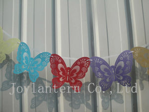 Laser Cut Butterfly Bunting for Wedding