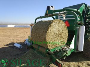 Qualified Hay Nets Bale Wrap Net Silage Wrap 1.23m pictures & photos