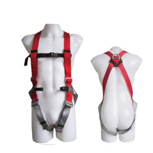 Standard Industrial Professional Polyester Worker Full-Body Safety Harness Belt pictures & photos