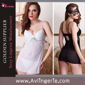 New Women Sexy Lace Babydoll Sleepwear Lingerie (KLB1-088)