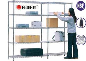 Adjustable Warehouse Metal Rack, Light Duty Storage System (CJ12035180A5C) pictures & photos